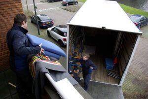 Verkroost verhuizingen verhuizen op locatie in de regio Leiden